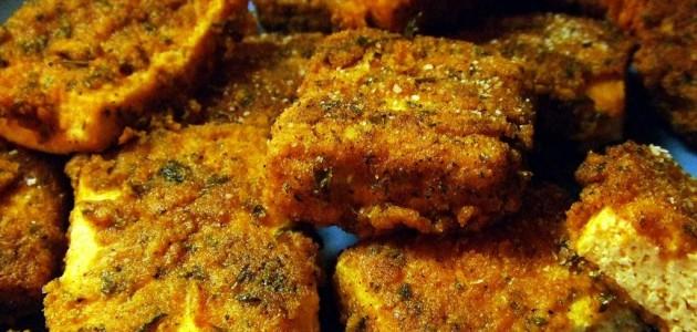 Итальянская кухня. Рецепт: Сыр тофу жареный (фото)
