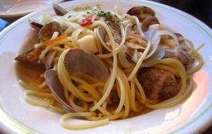 Паста с морепродуктами в мультиварке