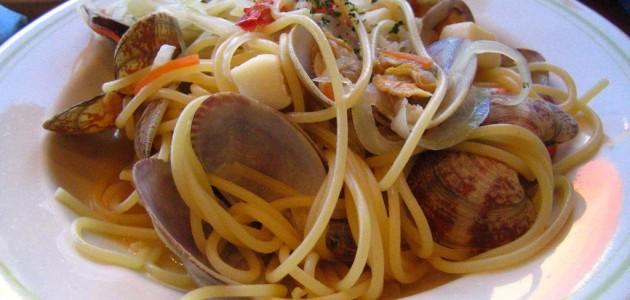 Итальянская кухня. Рецепт: Паста с морепродуктами в мультиварке (фото)