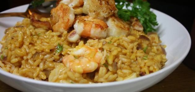 Итальянская кухня. Рецепт: Ризотто с морепродуктами в мультиварке (фото)
