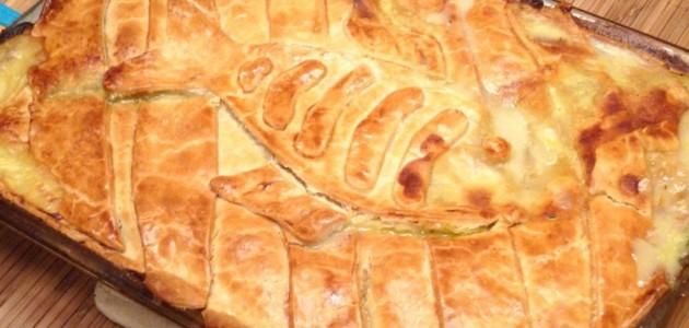Итальянская кухня. Рецепт: Рыбный пирог с ананасами (фото)