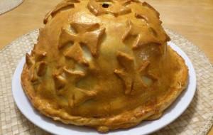 Итальянская кухня. Рецепт: Пирог курник по-русски (фото)