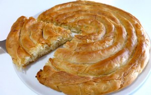 Итальянская кухня. Рецепт: Пирог сырная улитка (фото)
